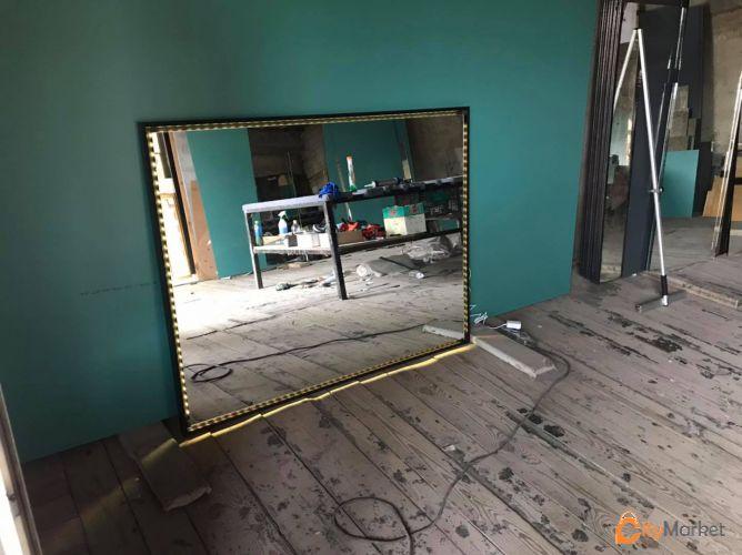 ვამზადებთ სარკეებს ნებისმიერი ფორმის და დიზაინის